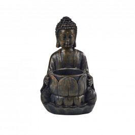 BUDDHA Svícen Buddha 14 cm