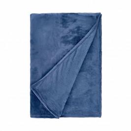 LAZY DAYS Deka flísová 150 x 200 cm - tm. modrá
