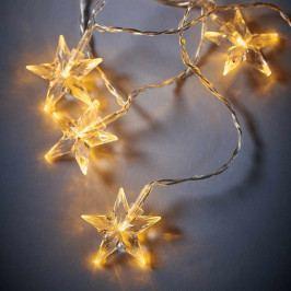 BRIGHT NIGHT LED Světelný řetěz hvězdy 10 sv.