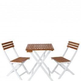 MORNING STAR Balkonový set 2 ks židle a 1 ks stůl