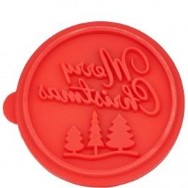 BISCUIT Razítko na sušenky Merry Christmas