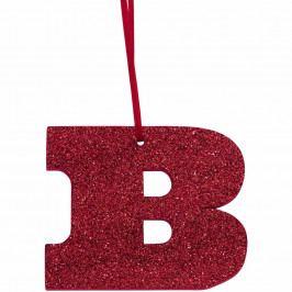 HAPPY GIFT Písmeno s třpytkami B