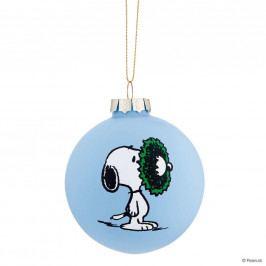 PEANUTS Skleněná ozdoba Snoopy