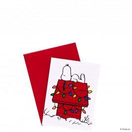 PEANUTS Mini přání Snoopy na chalupě