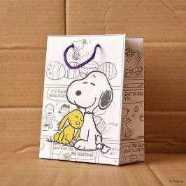 PEANUTS Dárková taška Snoopy a zajíc