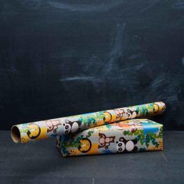 JUNGLE KIDS Dárkový balící papír