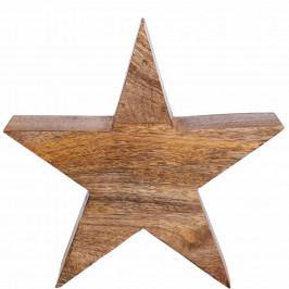 FOREST Dřevěná hvězda