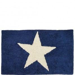 STARS Koupelnová předložka hvězda - modrá