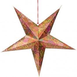 LATERNA MAGICA Dekorační hvězda květinová