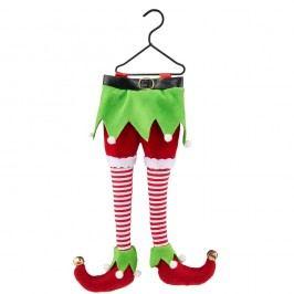 Elfí noha - vánoční ozdoba