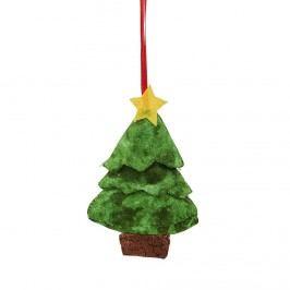 HANG ON Látková ozdoba vánoční strom malý