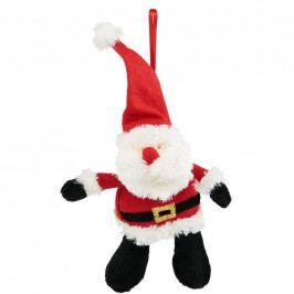Plyšový Santa Claus - vánoční ozdoba