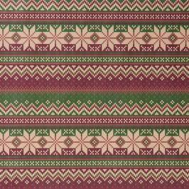 SURPRISE Balicí papír pletený vzor