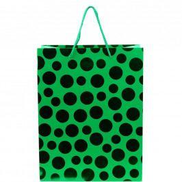 X-MAS Dárková taška puntík, velký