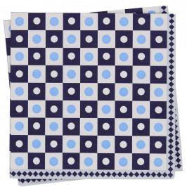 APRÉS Papírové ubrousky mozaika čtverec