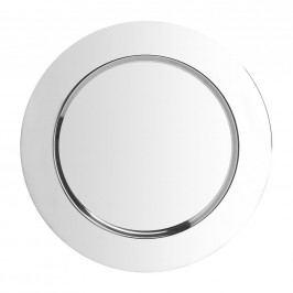 PIATTO Dekorační talíř - stříbrná
