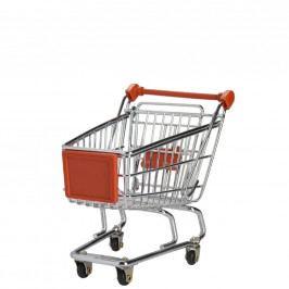SUPERMARKET Nákupní vozík malý - červený