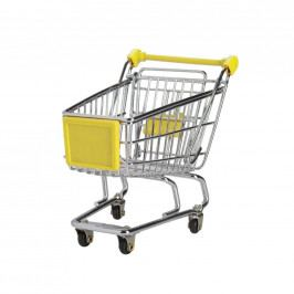 SUPERMARKET Nákupní vozík malý - žlutý