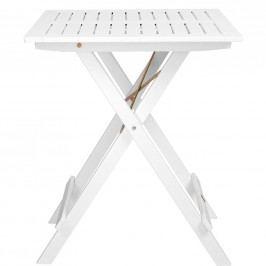 LODGE Skládací stůl - bílá