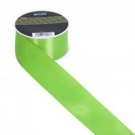 SATIN Dárková stužka 40mm x 3m - zelená