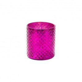 DELIGHT Svícen na čaj. svíčku 8cm - fuchsie