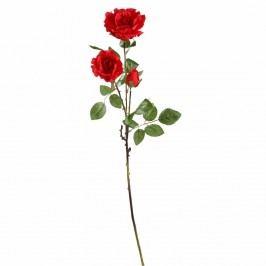 FLORISTA Růže 71cm 3 květy - červená