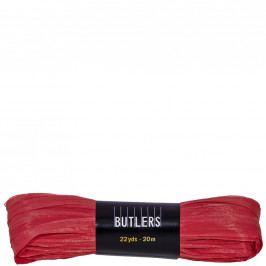 RAFFIA Dárková stužka 20cm - červená