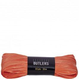 RAFFIA Dárková stužka 20cm - oranžová