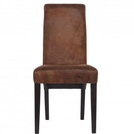 HIGH NOON Židle - hnědá