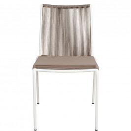 LYON Židle - šedohnědá