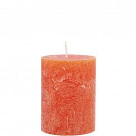 RUSTIC Svíčka 9cm - oranžová