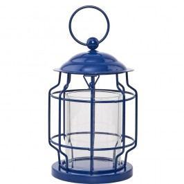 LIGHTHOUSE Lucerna, 17 cm - modrá