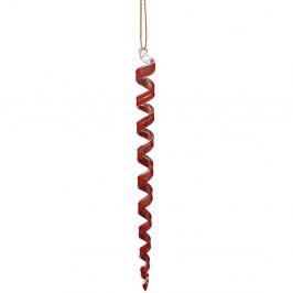 HANG ON Ozdoba rampouch, 20 cm - červená