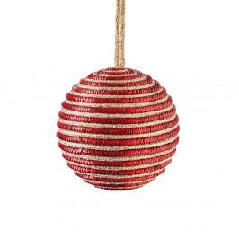 HANG ON Ozdoba provázková koule 8 cm