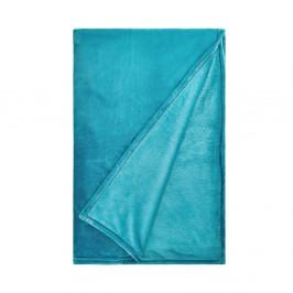 LAZY DAYS Flísová deka - modrá