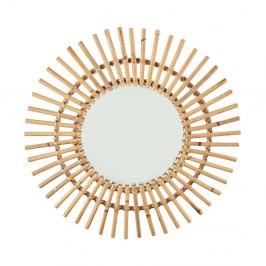 COTTAGE Ratanové zrcadlo ve tvaru slunce