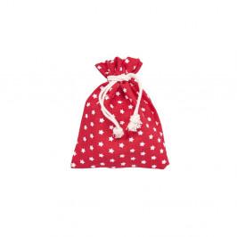 PACK-A-BAG Dárkové sáčky hvězdy 11 x 14 cm set 6 ks - červená