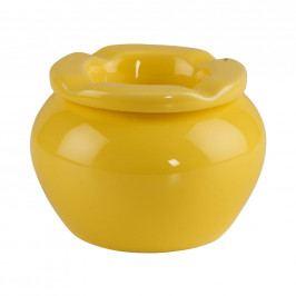 DUSTY Popelník 10 cm - žlutá