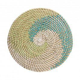 RONDA Prostírání - modrá/zelená/bílá