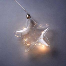 GLOW IN THE DARK LED Světelná hvězda 15 cm