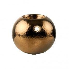 GOLDEN GLAM Svícen na čajovou svíčku 10 cm