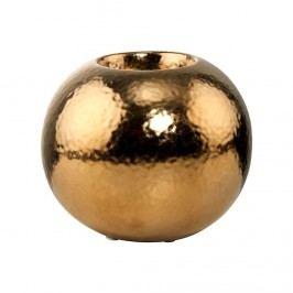 GOLDEN GLAM Svícen na čajovou svíčku 11 cm