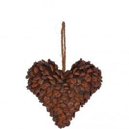 HANG ON Ozdoba srdce 8 cm