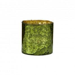 DELIGHT Skleněný votivní svícen 8 cm - zelená