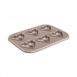 SWEET BAKERY Pečící forma srdce na 6 ks