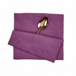PLAIN & NOBLE Ubrousek 45 x 45 cm - pastelově fialová
