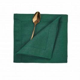PLAIN & NOBLE Ubrousek 45 x 45 cm - zelená