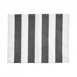 LA LINEA Prostírání 35 x 45 cm - šedá/bílá