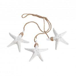 CORAL BEACH Mořská hvězdice na provaze 3 ks
