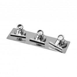 HANG ON Klip s magnetem velký - stříbrná